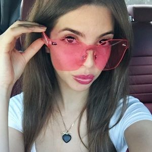 Pink clear sunnies